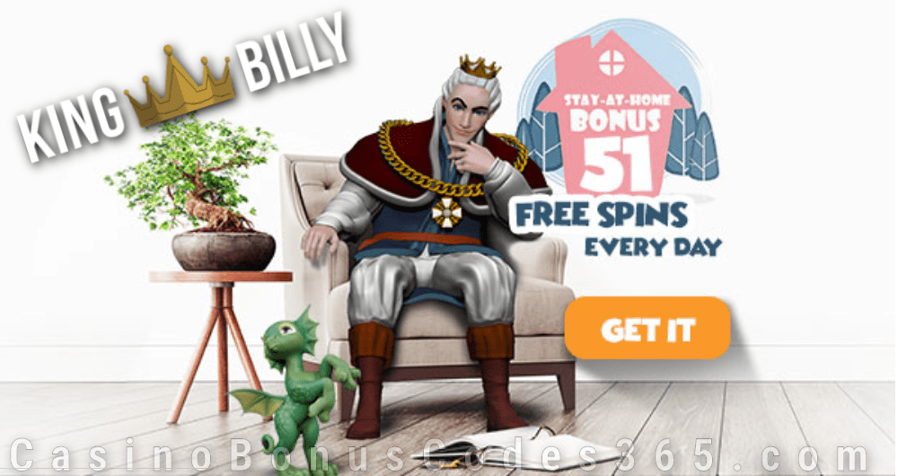 King Billy Casino Stay at Home Bonus Spring Tails