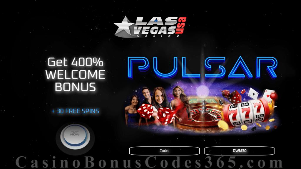 Las Vegas Usa Casino 30 Free Spins On Pulsar Special No Deposit