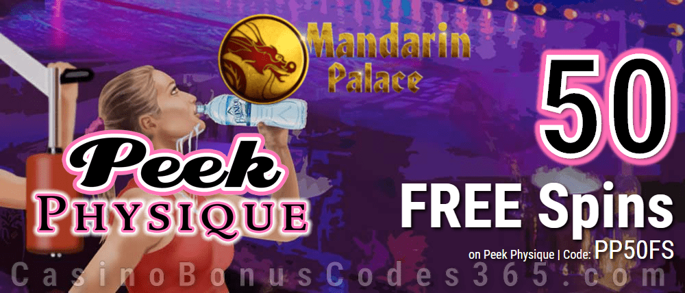 Mandarin Palace Online Casino 50 FREE Spins on Saucify Peek Physique Special Offer