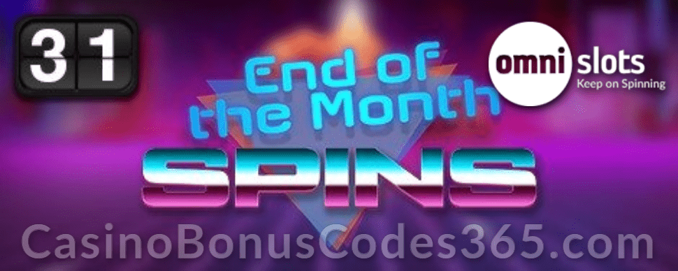 Omni Slots End of the month Spins Betsoft Total Overdrive