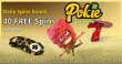 Pokie Spins 40 Daily Spins