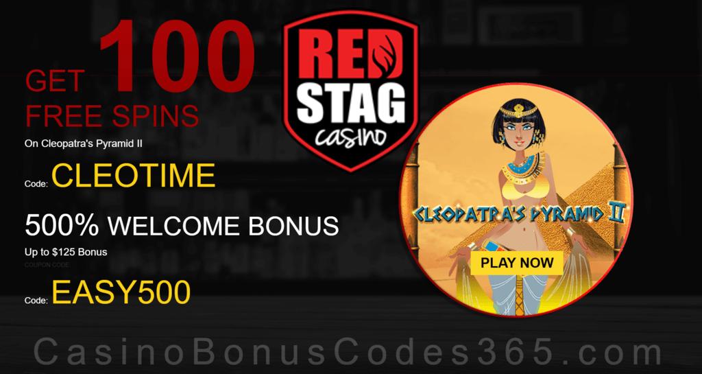 Red Stag Casino Deposit Bonus Codes