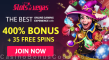 Slots of Vegas 400% Match Bonus plus 35 FREE Plentiful Treasure Spins Welcome Package