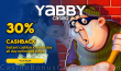 Yabby Casino Unlimited 30% Cashback