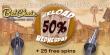 Betchain Casino Wednesday 50% Reload Bonus plus 25 FREE Spins on top!