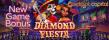 Jackpot Capital 50% up to $1000 Bonus plus 20 FREE Spins New RTG Game Diamond Fiesta Special Promo