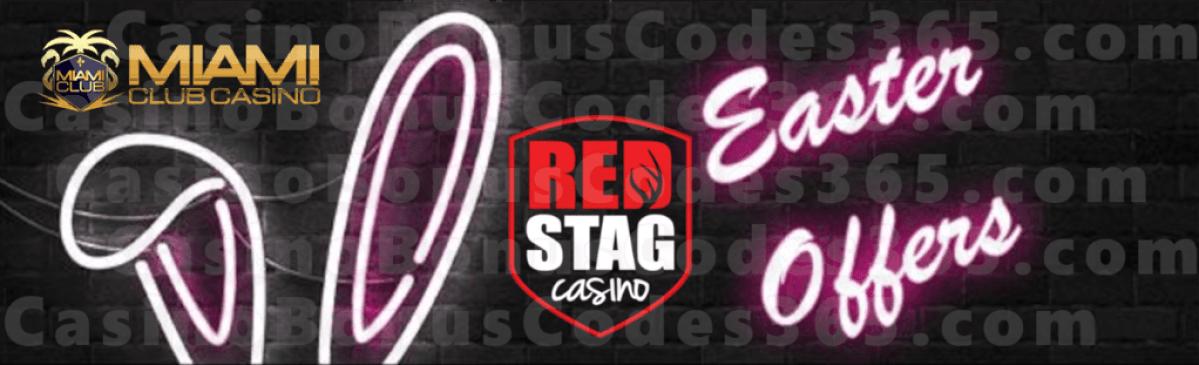 Red Stag Casino Miami Club Casino Happy Easter 2020 WGS Tailgate Blitz Vampire Vixen