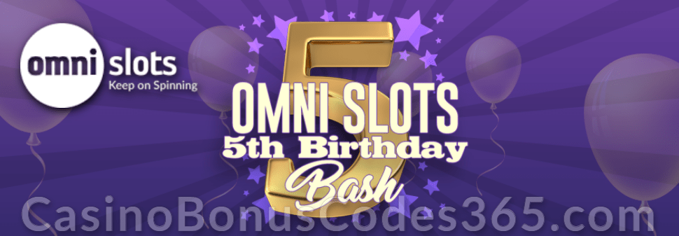 Omni Slots 5th Birthday Bash