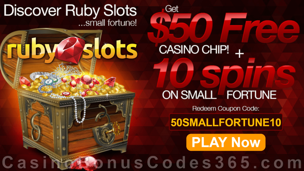 Ruby Slots Free Spins