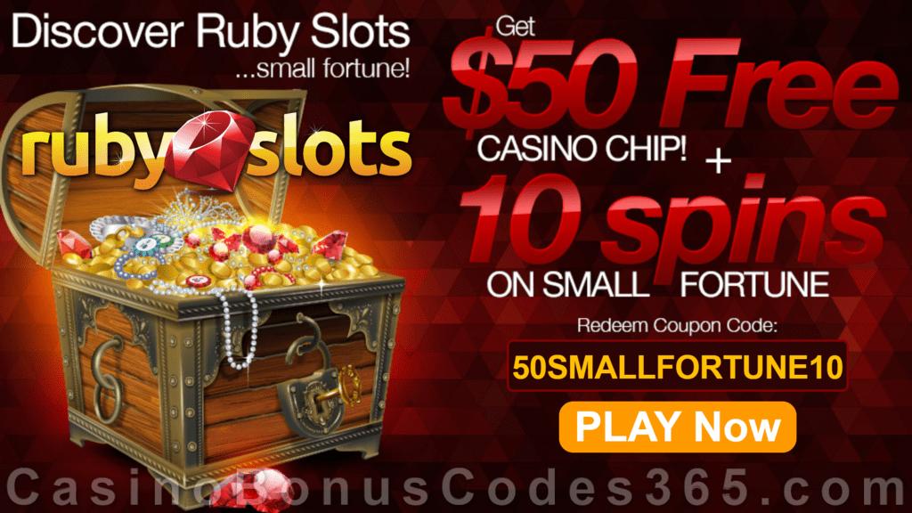 Ruby Slots No Deposit Free Spins 2020