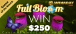 Win A Day Casino Full Bloom April Game of the Month Promo