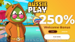 AussiePlay Casino 250% Match Welcome Bonus