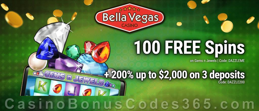 Bella Vegas Casino No Deposit Bonus