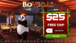 BoVegas Casino Special $25 Welcome FREE Chip Offer