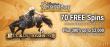 Casino GrandBay 70 FREE Spins on Saucify Buckin' Broncos plus 300% Match Welcome Bonus
