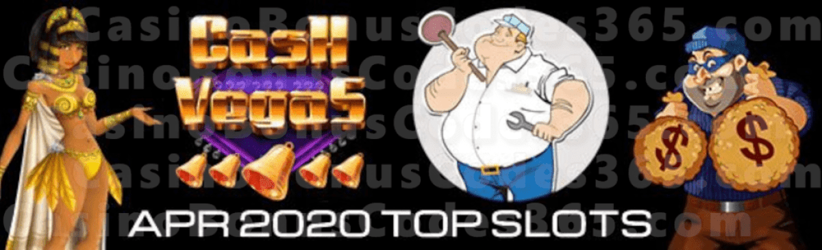Top Slots in April 2020 by Spins