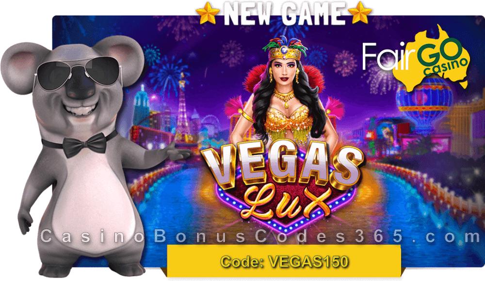 Fair Go Casino New RTG Game Vegas Lux LIVE