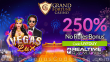 Grand Fortune Casino New RTG Game Vegas Lux 250% No Rules Slots Bonus