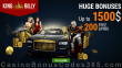 King Billy Casino A$1500 Bonus plus 200 FREE Spins Welcome Package