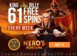 King Billy Casino Quickspin Nero's Fortune May Slot of the Month Nucleus Gaming Blades of the Abyss