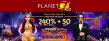 Planet 7 OZ Casino 240% No Max Bonus plus 50 FREE Vegas Lux Spins New RTG Game Special Offer