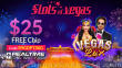 Slots of Vegas $25 FREE Chip New RTG Game Vegas Lux Special No Deposit Promo