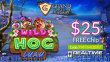 Grand Fortune Casino New RTG Game Wild Hog Luau $25 FREE Chip Special No Deposit Deal