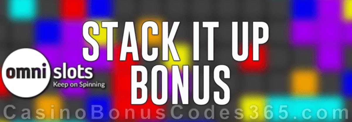 Omni Slots Stack it Up Bonus