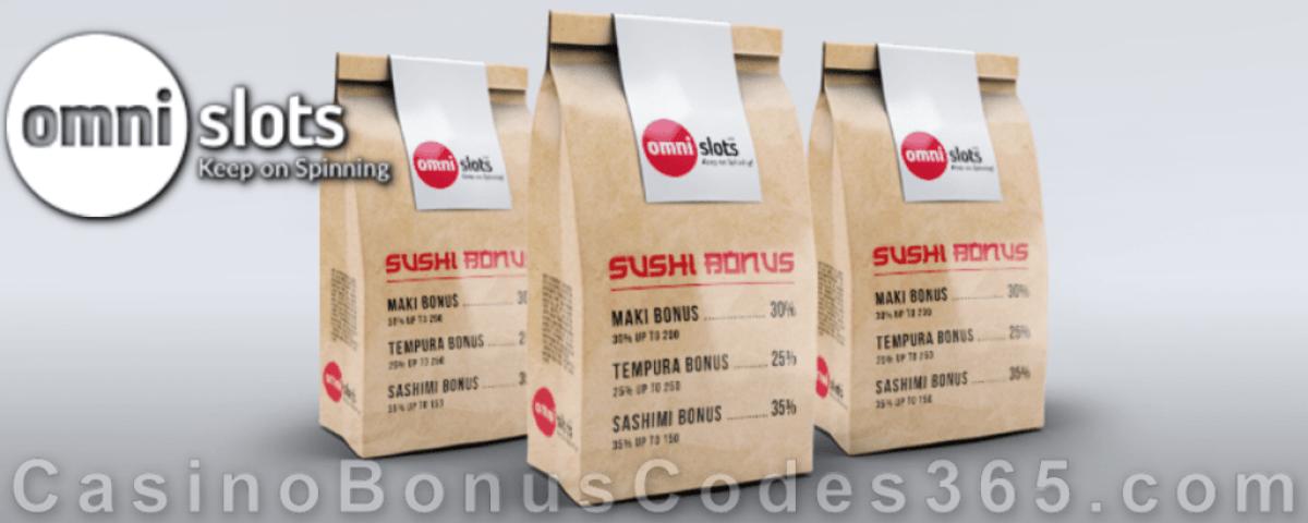 Omni Slots Sushi Bonus