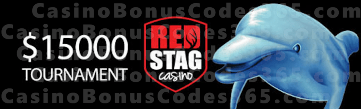 Red Stag Casino $15000 Splash of Cash Tournament WGS Dolphin Reef