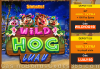 Slotastic Online Casino Wild Hog Luau New RTG Game Bonus and FREE Spins Special Offer