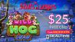 Slots of Vegas Wild Hog Luau New RTG Game $25 FREE Chip No Deposit Offer
