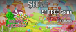 Big Dollar Casino 51 FREE Sweet Success Spins plus 310% Match Bonus Special New Players Promo