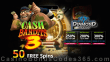Diamond Reels Casino 50 FREE Spins on Cash Bandits 3 New RTG Game Special Deal