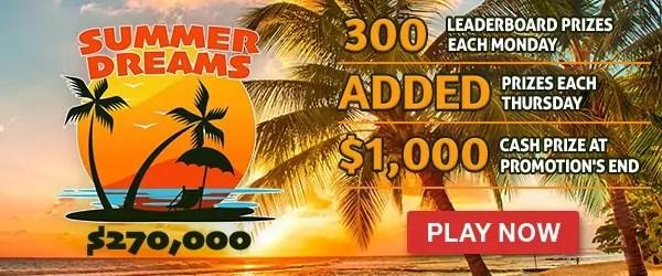 Intertops Casino Red $270000 Summer Dreams Tournament