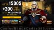 King Billy Casino A$1500 Bonus plus 200 FREE Spins Sign Up Deal NetEnt Starburst Fruit Zen