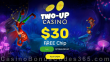 Two-up Casino $30 FREE Chip No Deposit Welcome Offer