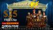 Planet 7 OZ Casino New RTG Game Achilles Deluxe $25 No Deposit FREE Chip Pre Launch Deal