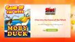 Slot Madness 250% No Max Bonus plus 50 FREE Spins on NuWorks Moby Duck Special Game of the Week Offer