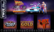 True Blue Casino Back to the Future Weekend 230% No Max Bonus plus 30 FREE Spins Special Offer RTG Trigger Happy Cleopatras Gold T-Rex II