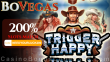 BoVegas Casino Exclusive 200% No Max Slots Welcome Bonus