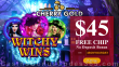 Cherry Gold Casino $40 FREE Chip Exclusive No Deposit Promo RTG Witchy Wins