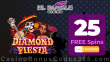 El Royale Casino 25 FREE RTG Diamond Fiesta Spins Exclusive Welcome Bonus