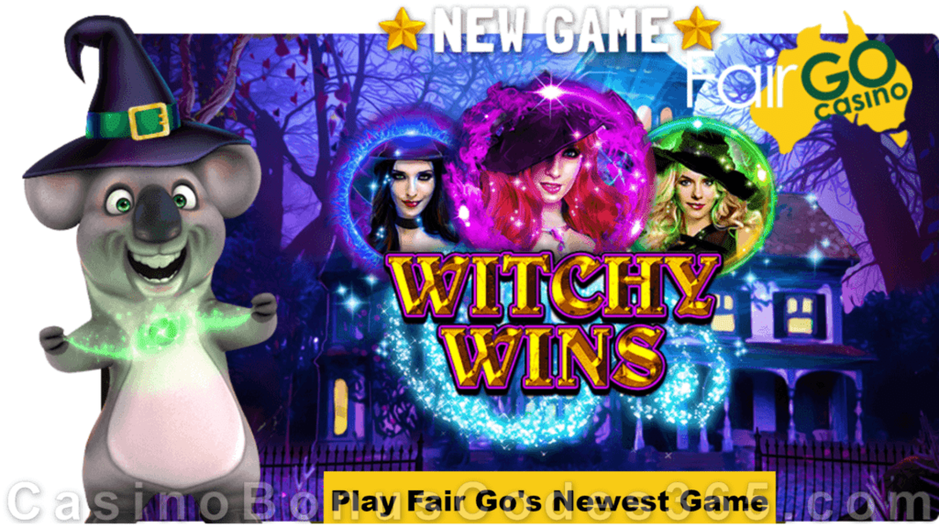 Fair Go Casino RTG Witchy Wins