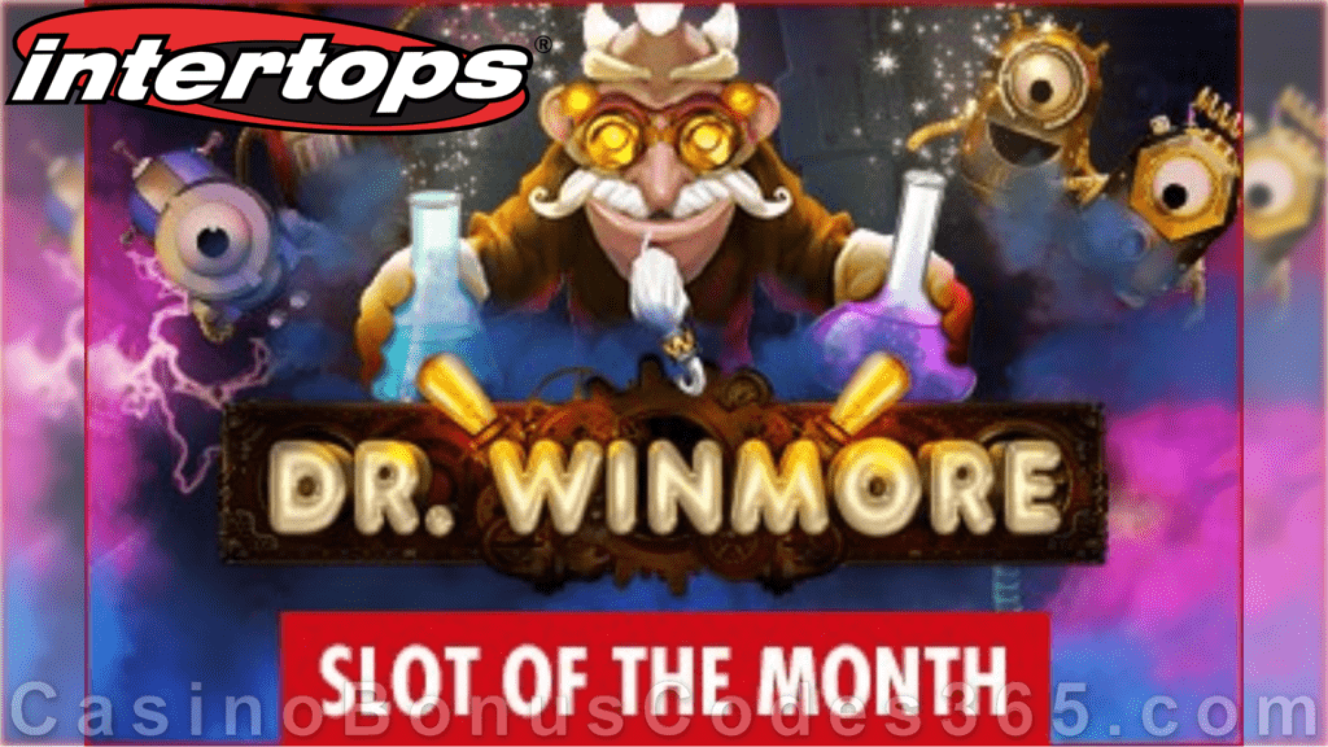Intertops Casino Red RTG Dr. Winmore September Slot of the Month Special Deal