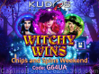 Kudos Casino RTG Witchy Wins Chips and Spins Weekend