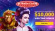 Malibu Club $10000 Bonus plus 120 FREE Spins Welcome Package