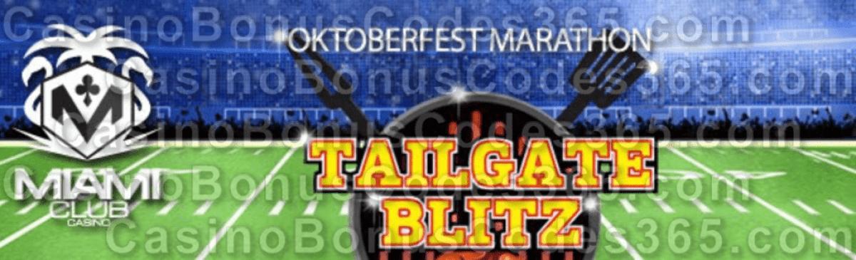Miami Club Casino 30% Pot Oktoberfest Marathon Tournament WGS Tailgate Blitz