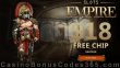 Slots Empire Exclusive $18 FREE Chip No Deposit Promo