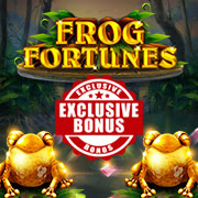 Intertops Casino Red 125% Match plus 50 FREE Frog Fortunes Spins New RTG Game Special Promotion